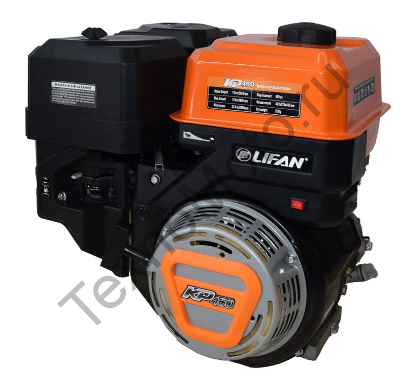 Двигатель Lifan KP460 (192FD-2T)  D25, (20 л.с)