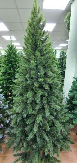 Искусственная елка Лесная Красавица стройная 230 см зеленая