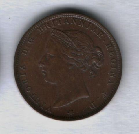 1/24 шиллинга 1888 года Джерси XF-