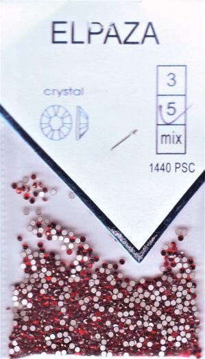 Стразы ELPAZA  CRYSTAL SS5 1440 шт. красные