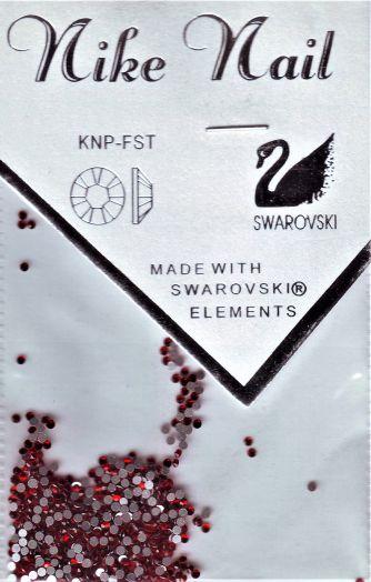 Стразы NIKE NAIL swarovski SS5 720 шт. темно красные