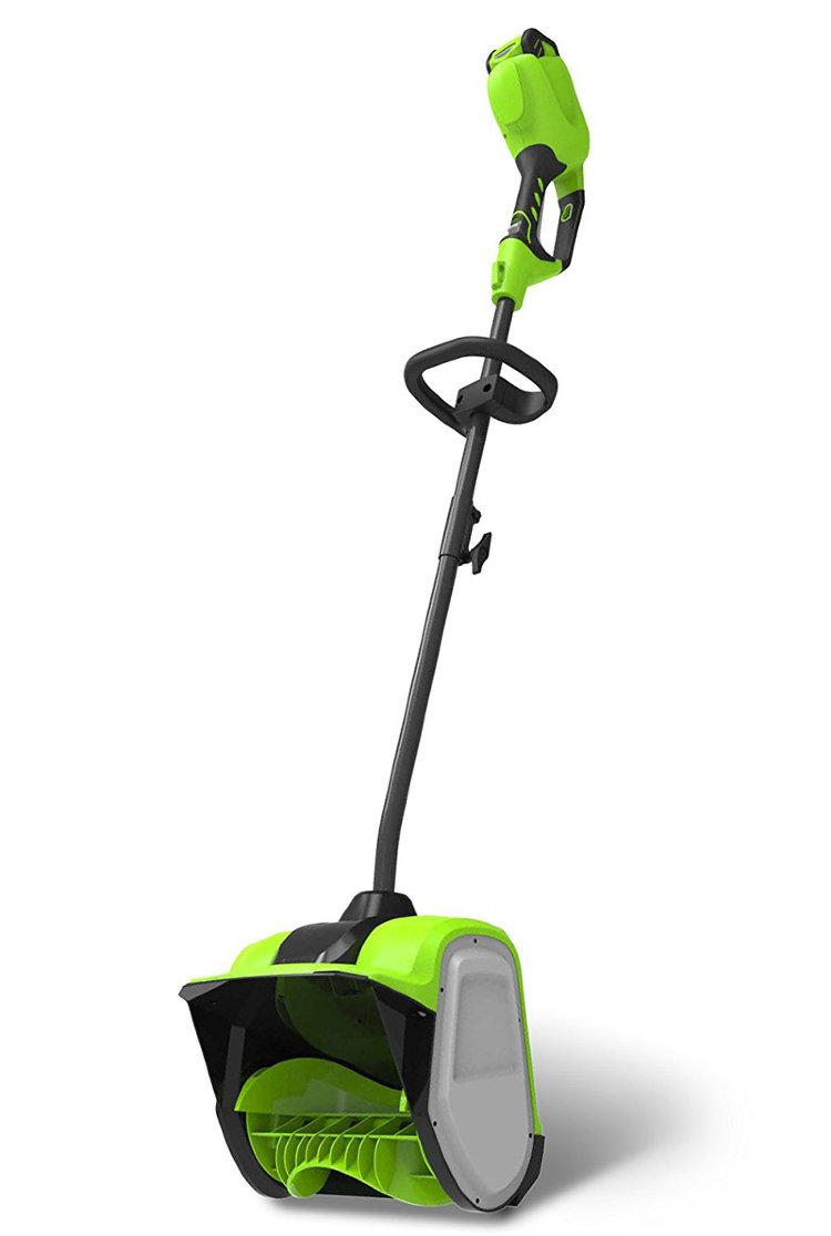 Снегоуборщик аккумуляторный greenworks G40SS30 2600807UA с аккумуляторoм 2 А.ч