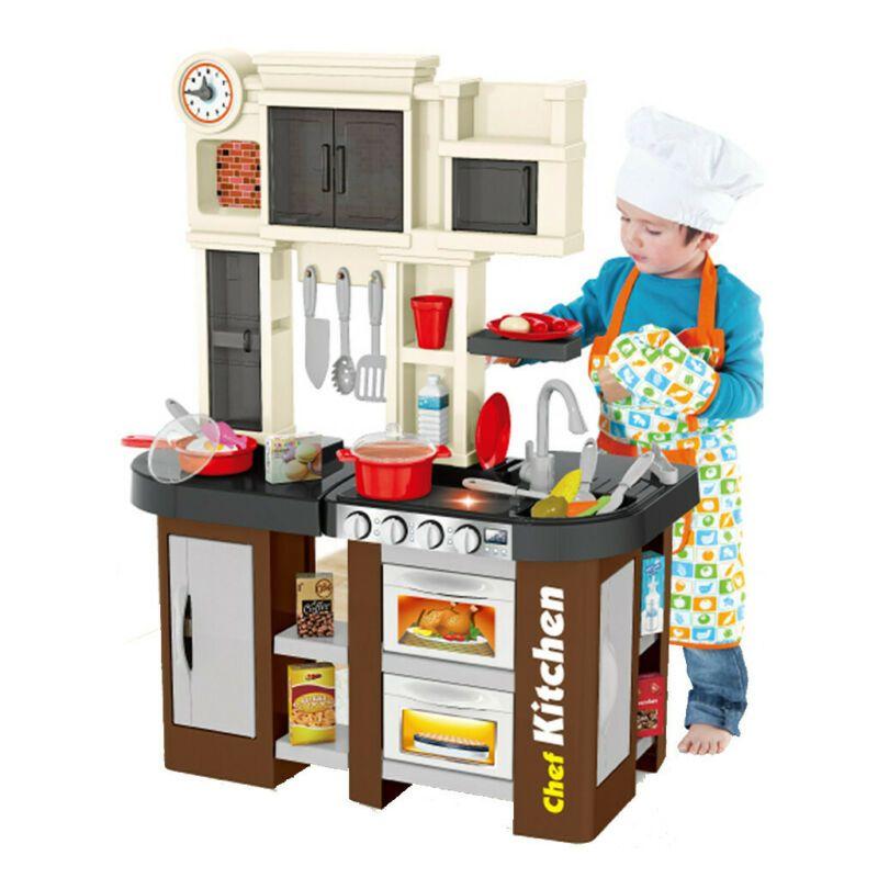 922-101 Детская кухня игровая с буфетом, со светом,с водичкой Talented Chef Kitchen