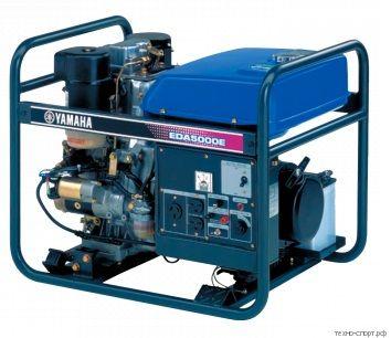 Дизельный генератор Yamaha EDA 5000TE с электростартером