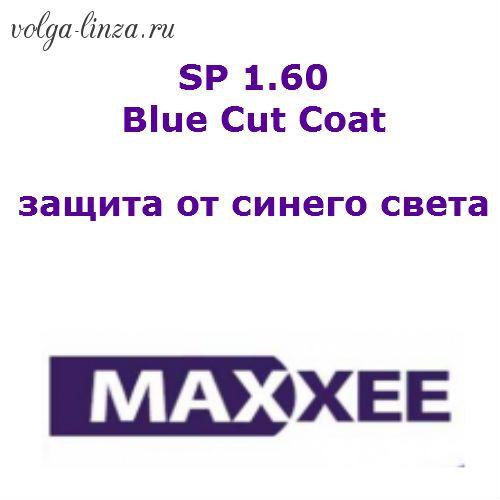 Maxxee SP 1.60  Blue Cut Coat-очковые линзы с защитой от синего света