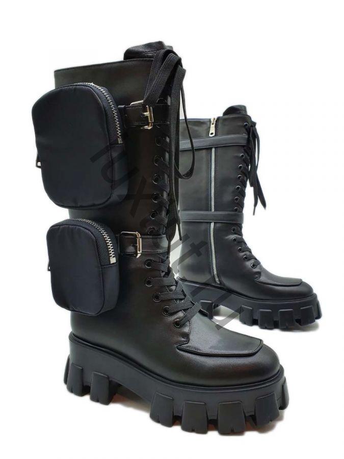 Ботинки Prada с карманами