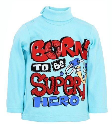 "Водолазка для мальчика Bonito kids ""Super Hero"" 1-4 года"