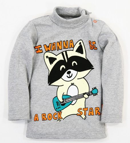 "Водолазка для мальчика Bonito kids ""Rock Star!"" 1-4 года"