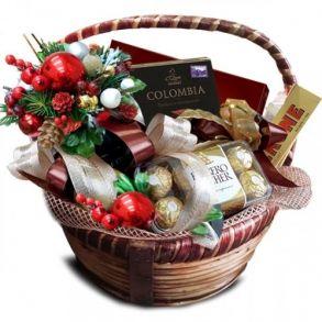 Подарочная корзина Королевский  орех новогодний