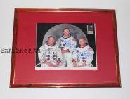 Автографы: экипажа «Аполлон-11» - Нил Армстронг, Базз Олдрин, Майкл Коллинз. Редкость