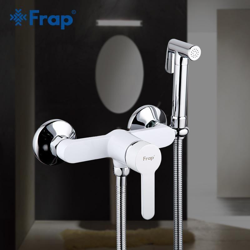 Смеситель с гигиеническим душем Frap H41 F2041-8