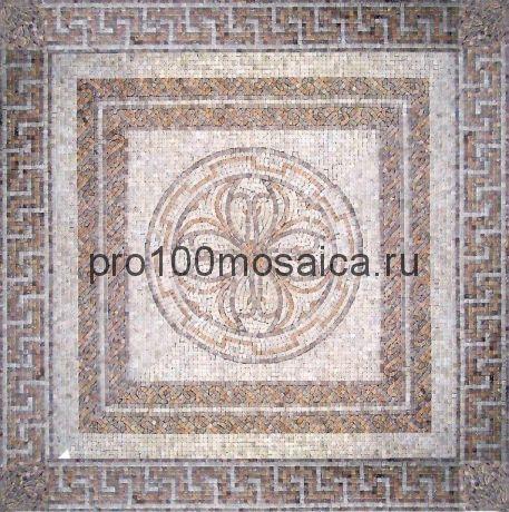 PH-21 мрамор. Мозаичный ковер  1220*1220*10 мм (NATURAL)