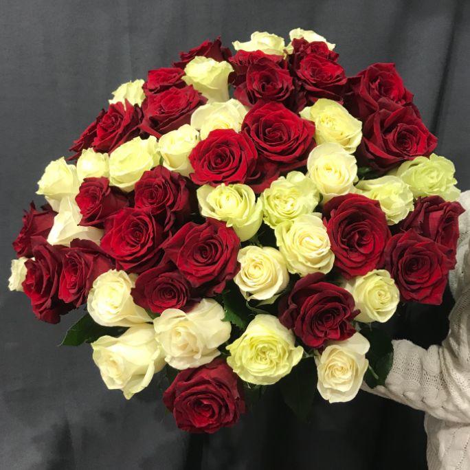 Монобукет из 51 розы 5082.51