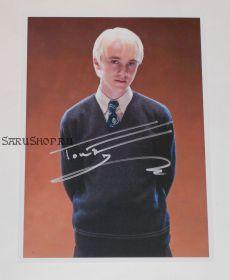Автограф: Том Фелтон. Гарри Поттер