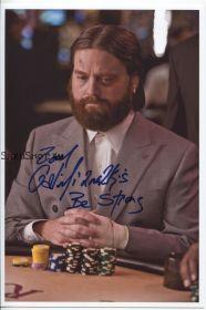 Автограф: Зак Галифианакис. Мальчишник в Вегасе / The Hangover