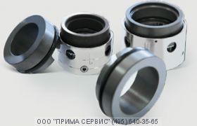 Уплотнение двойное торцевое ф.25TU251-9/TU251/9  для насоса ХМ 6,3/30К55Ф-2,2/Е-УХЛ1