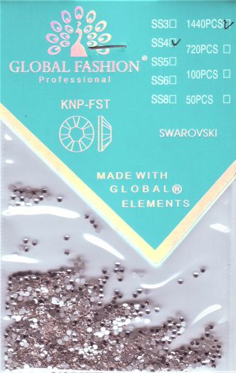 Стразы Глобал Фэшн кристалл SS4 1440 шт