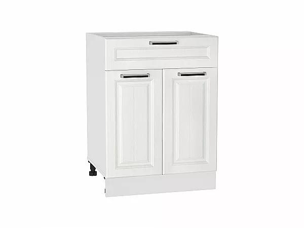 Шкаф нижний  с ящиком Прага Н601 (Белое дерево)