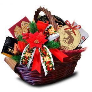 Подарочная корзина Новогодние традиции