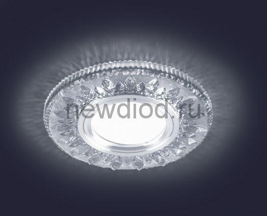 Светодиодный точечный светильник ES-903/GX53-125-4W/NW-CLEAR/CLEAR-220-IP20