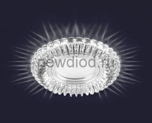 Светодиодный точечный светильник ES-904/MR16-98-2,5W/NW-CLEAR/CLEAR-220-IP20