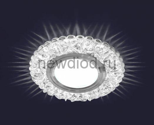 Светодиодный точечный светильник ES-905/GX53-125-4W/NW-CLEAR/CLEAR-220-IP20