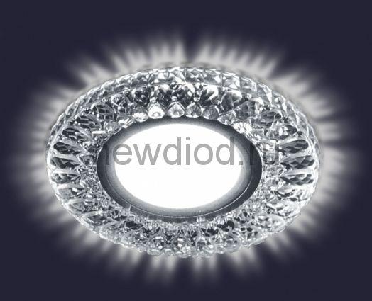 Светодиодный точечный светильник ES-906/MR16-98-2,5W/NW-CLEAR/CLEAR-220-IP20