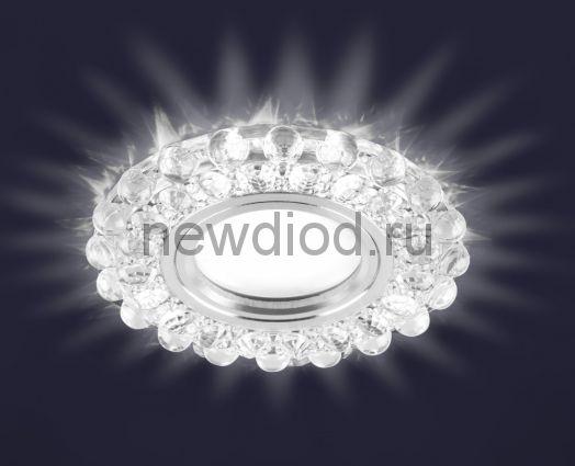 Светодиодный точечный светильник ES-909/MR16-98-2,5W/NW-CLEAR/CLEAR-220-IP20