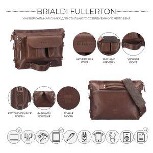 Универсальная сумка BRIALDI Fullerton (Фуллертон) relief rust