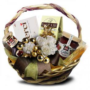 Подарочная корзина Трюфельный конфетти