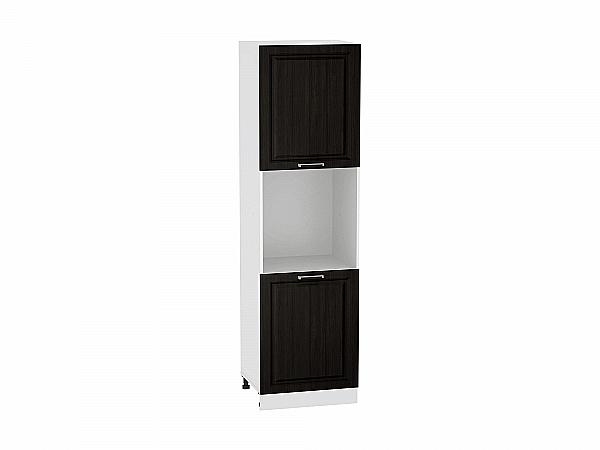 Шкаф пенал под бытовую технику Прага ШП600Н (Венге премиум)