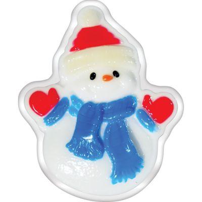Liss Kroully Skin Juice Подарочное мыло туалетное фигурное Снеговик в синем шарфе