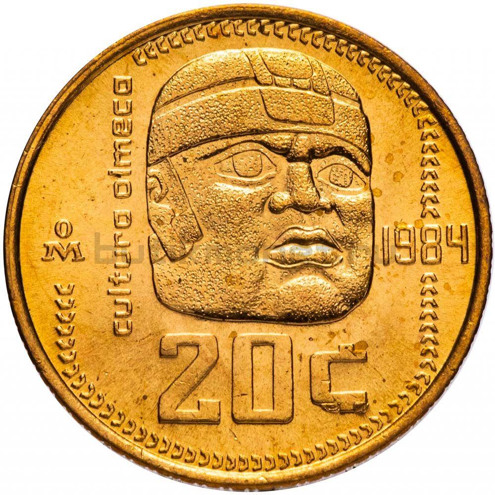 20 сентаво 1984 Мексика