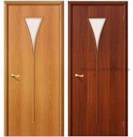 Дверь межкомнатная ламинированная рюмка Орех