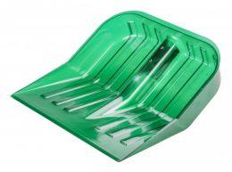Альтернатива Лопата снеговая поликарбонат (ковш) 430x420 мм зелёная