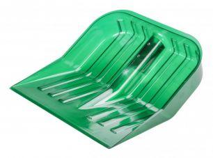 Альтернатива Лопата снеговая поликарбонат (ковш) 430x420 мм зелёная - все для сада, дома и огорода!