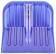 Альтернатива Лопата снеговая поликарбонат (ковш) 430x420 мм синяя - миниатюра