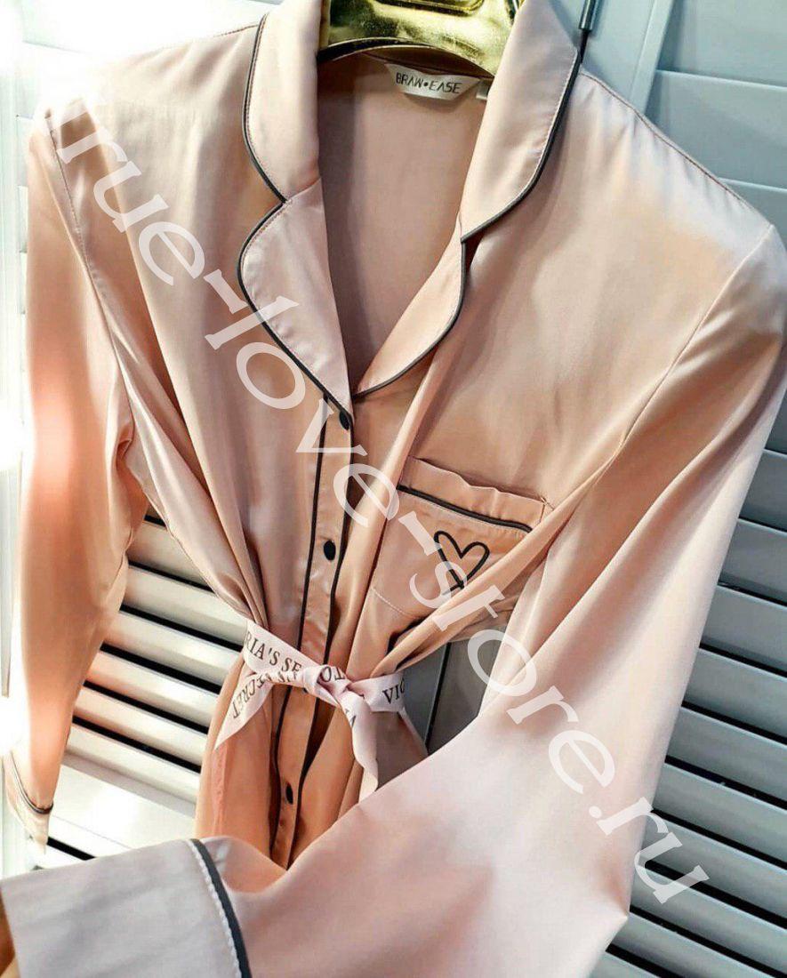 8081-1-цена за 3 шт,  пижамка двойка Victoria's Secret