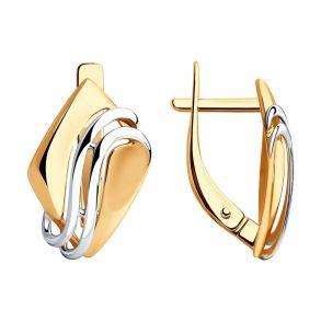 Серьги из золота 028535 SOKOLOV