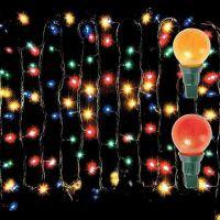 Гирлянда электрическая, 100 ламп-шаров (2)