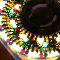 Гирлянда электрическая, 100 ламп-шаров (5)