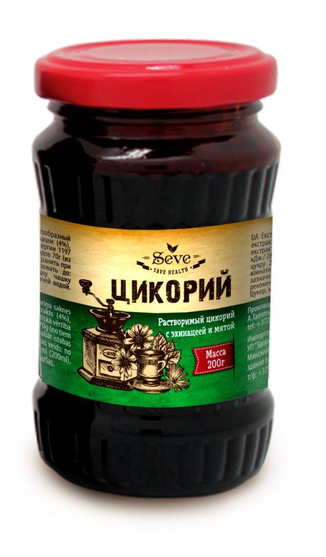 ЦИКОРИЙ жидкий с эхинацеей и мятой, 200 гр