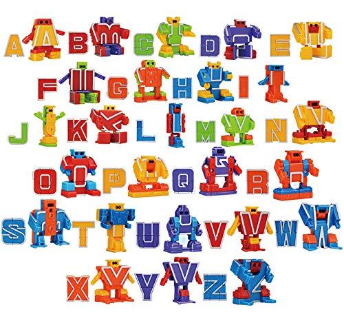 Буквы-трансформеры Alphabet Robots (26 букв)