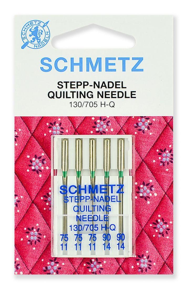Иглы Schmetz для квилтинга, набор №75-90 (5шт.)