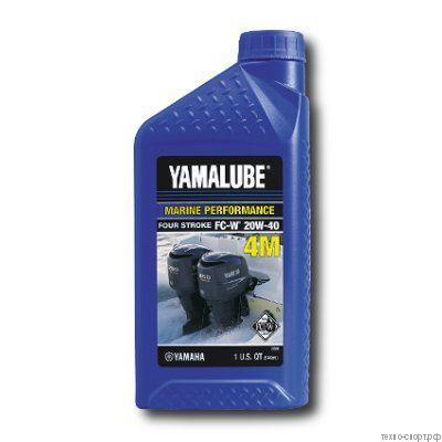 Yamalube 4M 20W-40 Marine Mineral Oil (0,946 л) LUB20W40FC12
