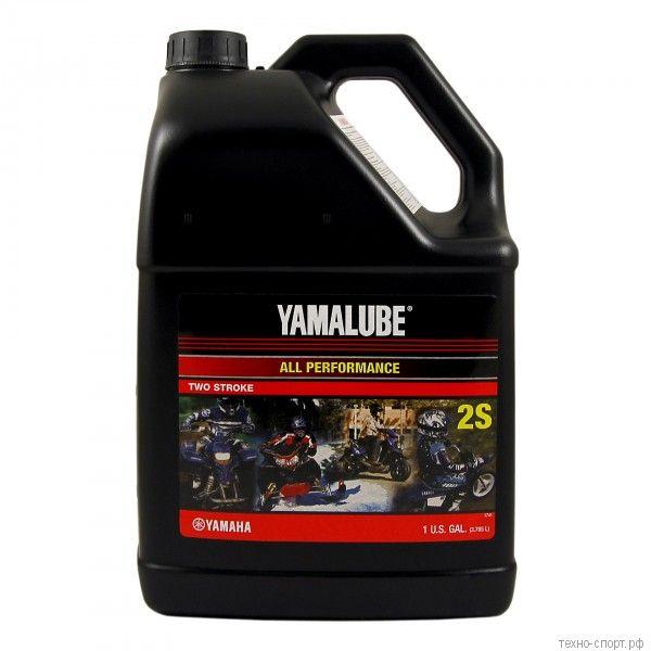 Yamalube 2S, 2Т, Semisynthetic Oil (3,78 л)