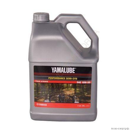 Yamalube 10W-50, 4-тактное полусинтетическое (3,78 л)