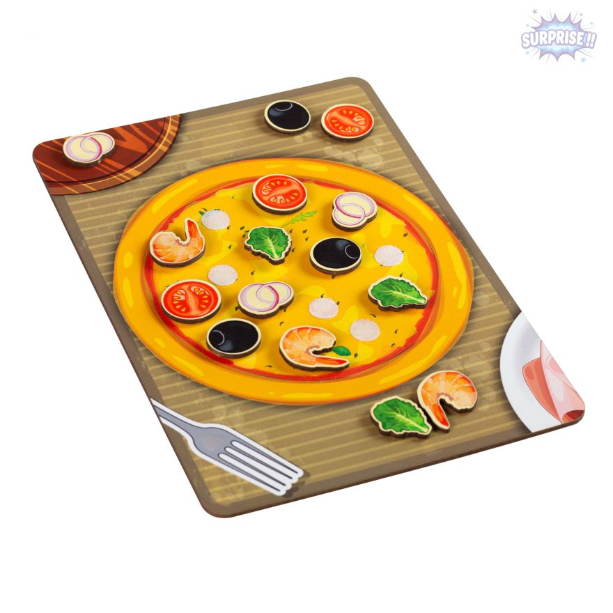 Игра-Липучка пицца морская