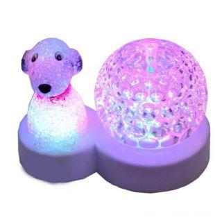Ночник-светильник Хрустальный шар и Собака