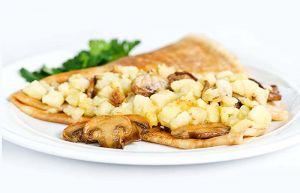 Блин с картофелем и грибами 140г